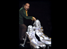 Salvador Dali with The Silver People SALVADOR-DALI-WITH-THESILVERPEOPLE